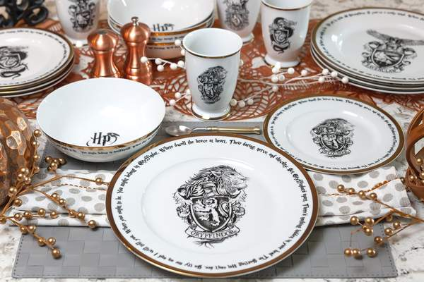 Hogwarts Houses Dishes