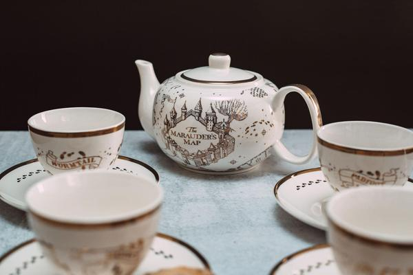 Mischief Managed With The Harry Potter Marauders Map Tea Set