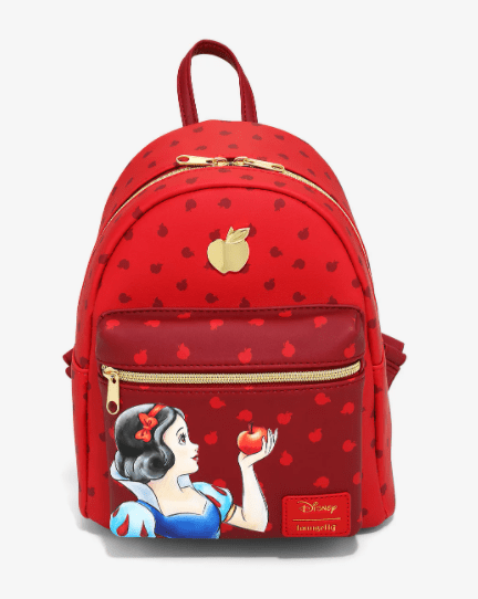Apple Red Snow White Loungefly Bag