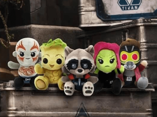 Break Out With The Guardians of the Galaxy Wishables