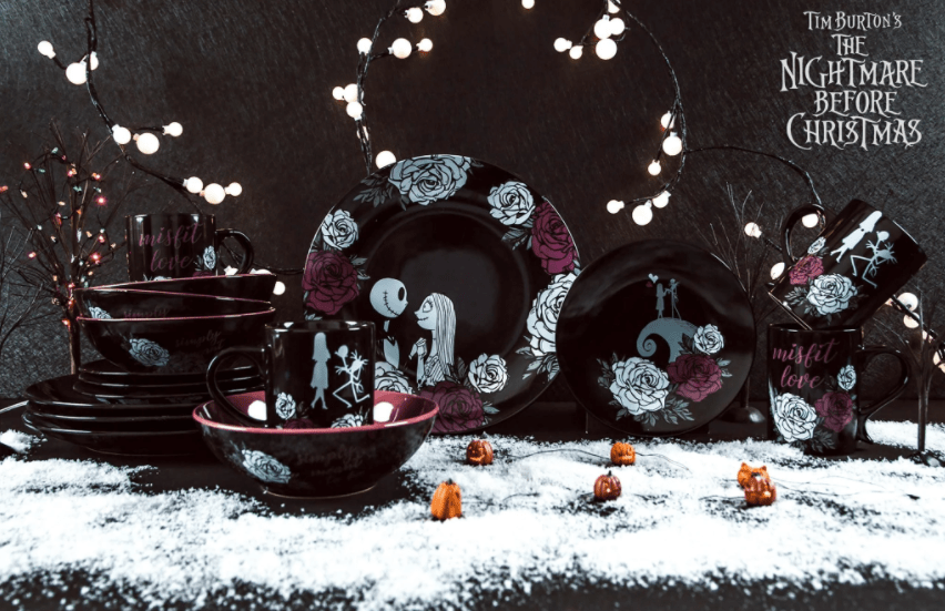 This Nightmare Before Christmas Dish Set Is Simply Meant To Be
