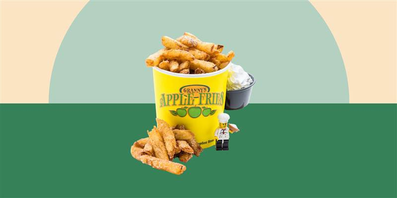 Learn How To Make Granny's Apple Fries From Legoland!