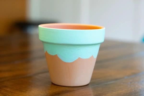 Mickey Ice Cream Planter