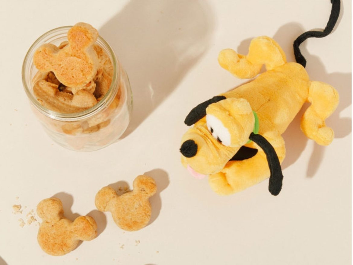 Treat Your Pup With These Mickey Shaped Dog Treats!