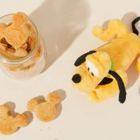Mickey shaped dog treats