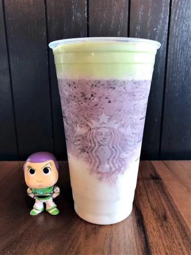 Buzz lightyear frappuccino