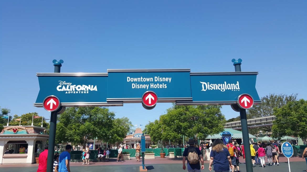 Disneyland Guests will be able to Park Hop pending availability