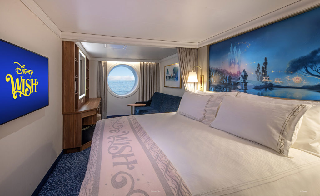 More details on the Disney Wish Guest Accommodations
