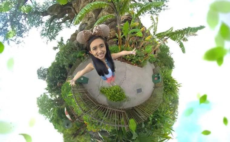 New Tree of Life Photopass Magic Shot at Disney's Animal Kingdom
