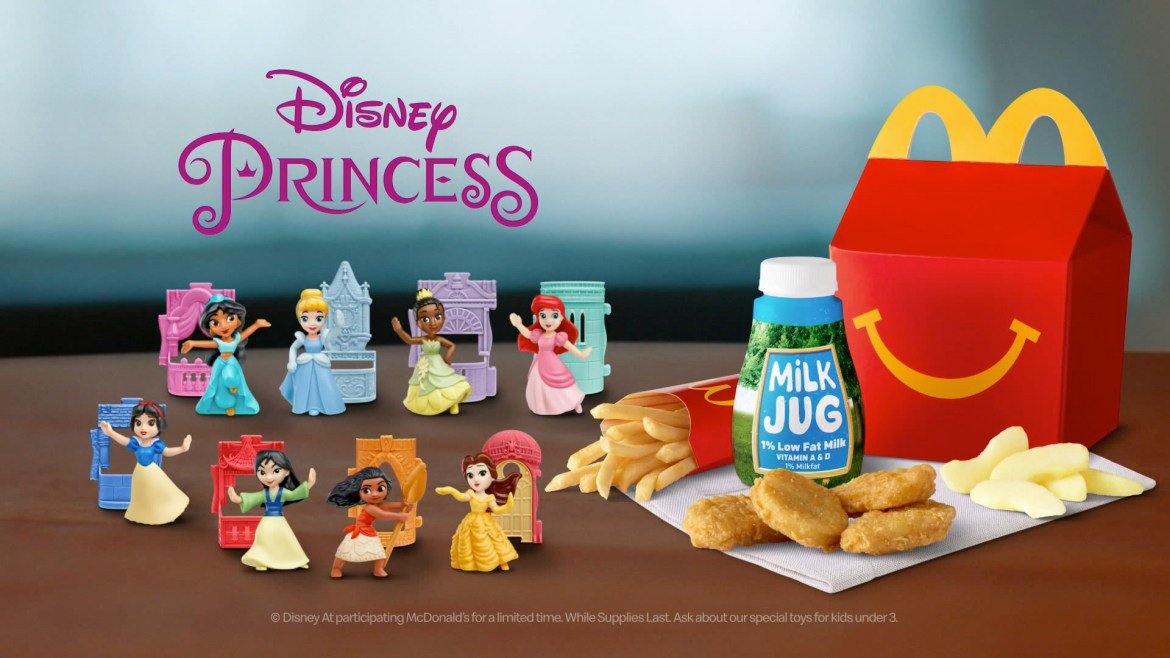 Star Wars And Disney Princess Happy Meal Toys Now At McDonald's!