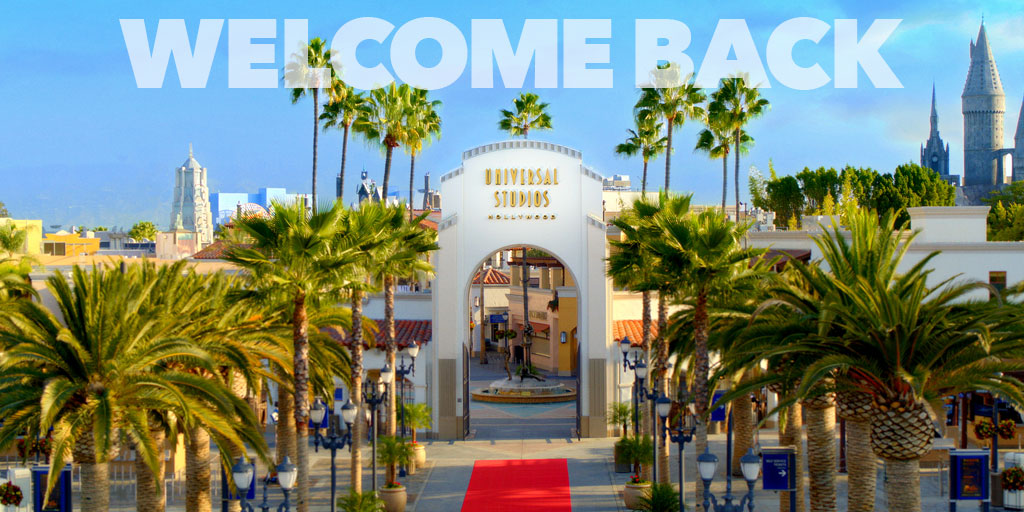 Universal Studios Hollywood will allow out of state guests who are vaccinated