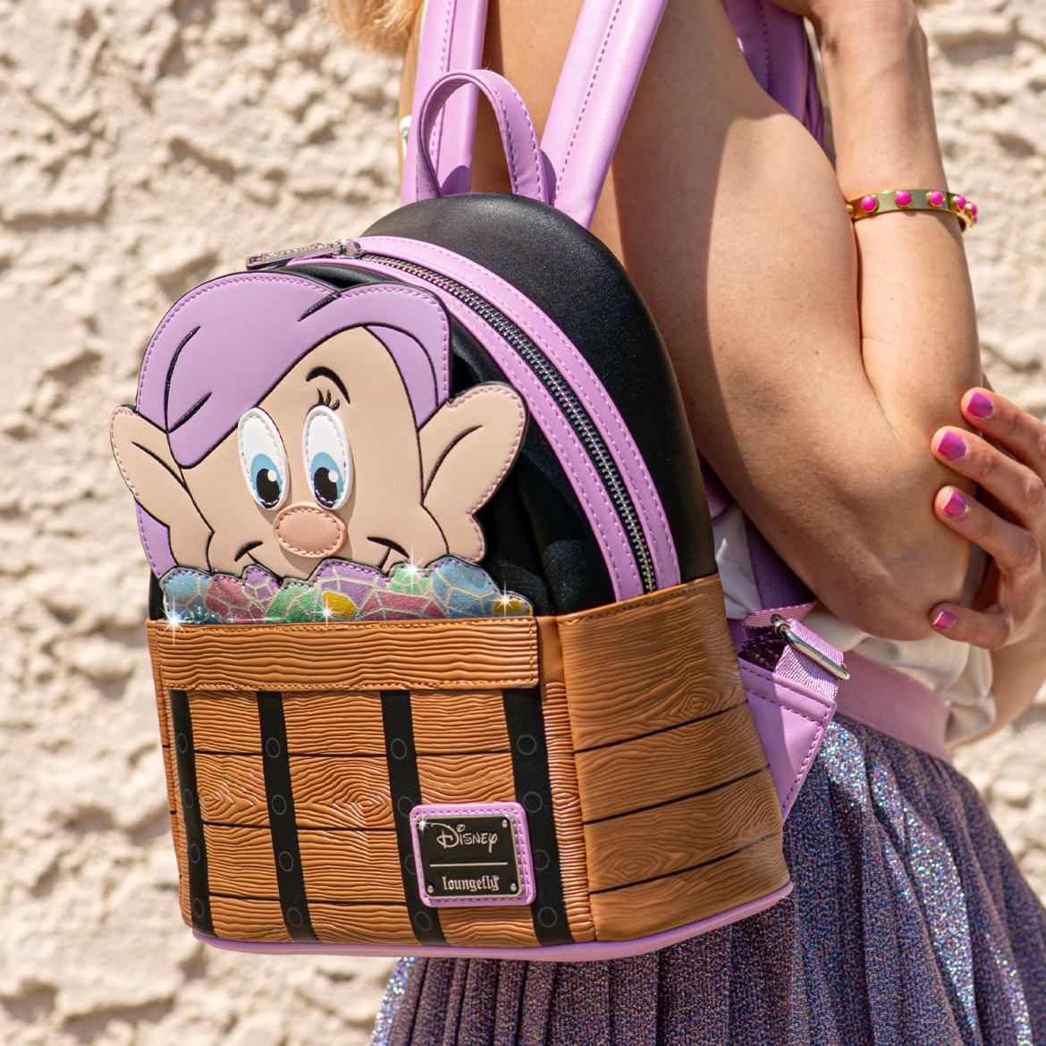 Dopey Loungefly Backpack and Snow White Collection Launch Today