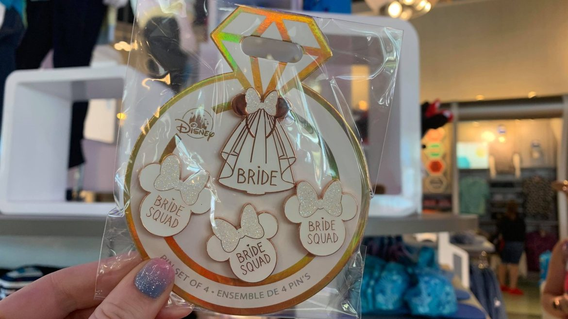 Disney Bride Pins Are Perfect For Celebrating