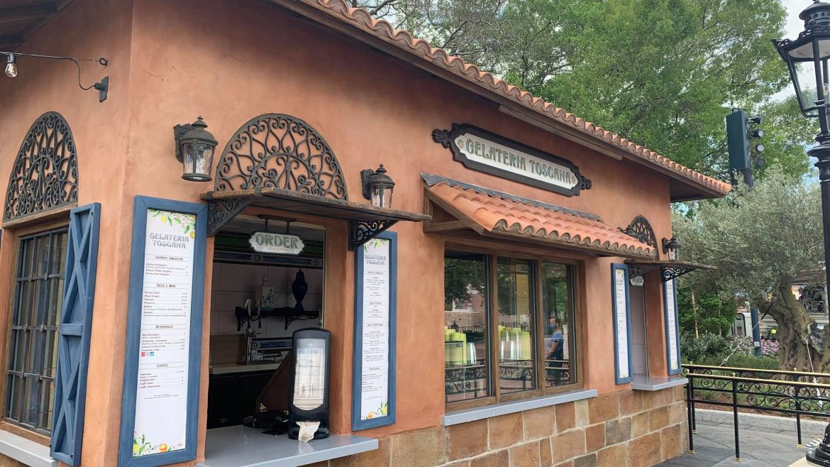 First look at the new Gelateria Toscana in Epcot