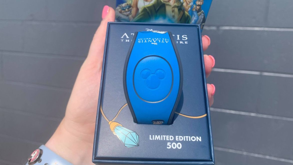 New Very Rare Atlantis MagicBand spotted at Disney World