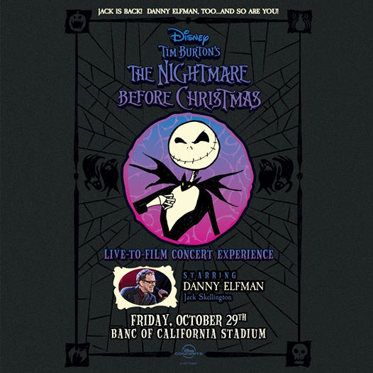 'The Nightmare Before Christmas' Live-To-Film Performance Coming this Fall 2