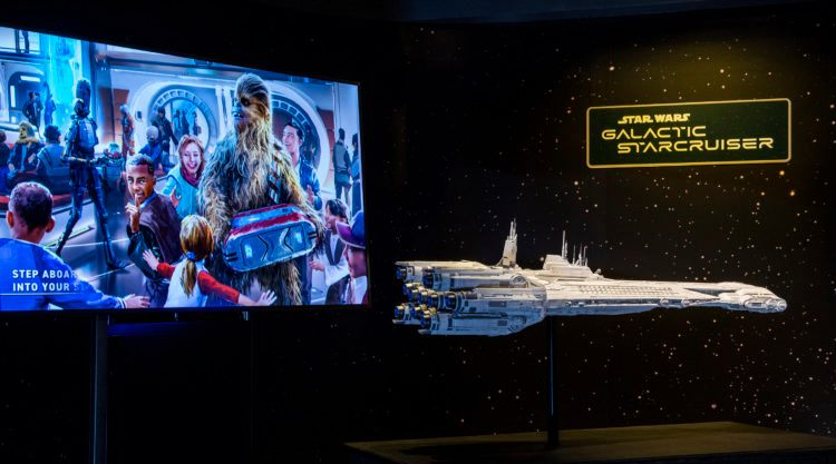 Work to begin on Star Wars: Galactic Starcruiser Hotel Marquee
