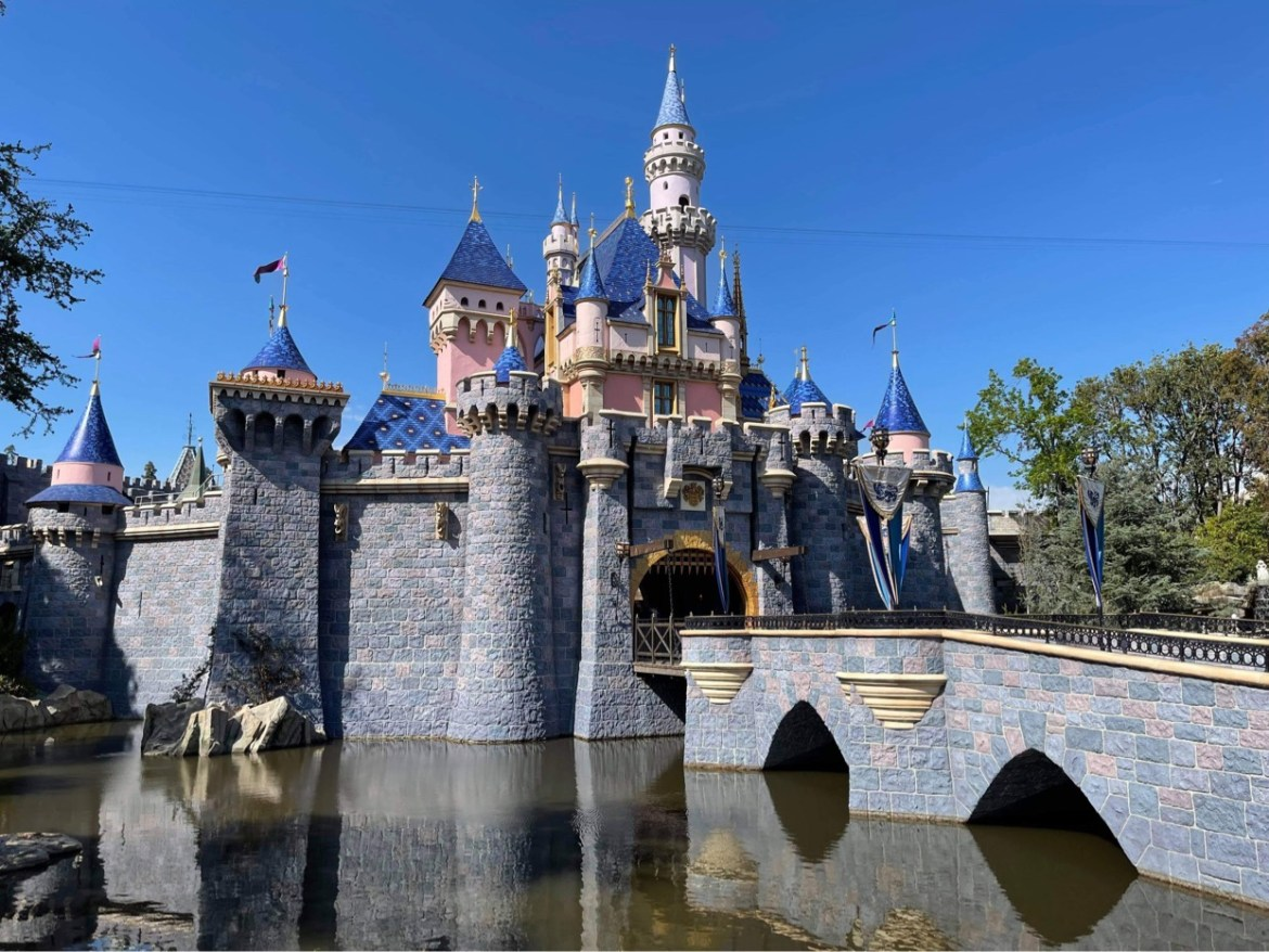 Disneyland able to increase capacity from 25 to 35%