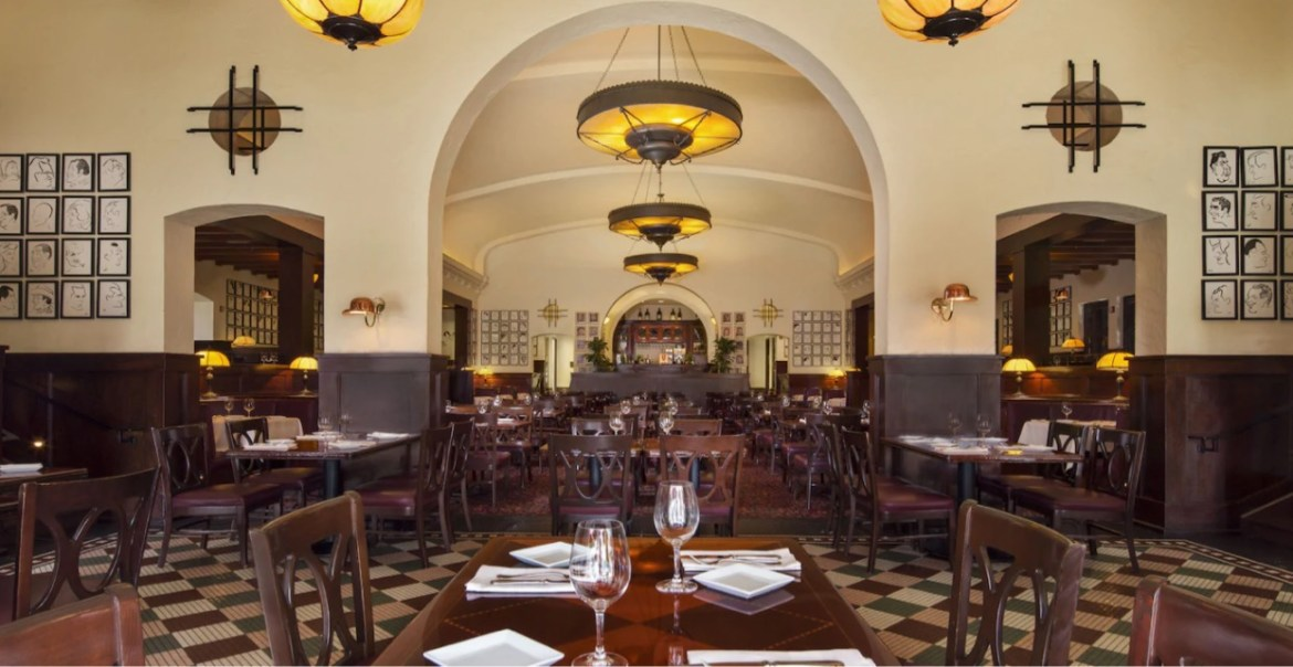 Hollywood Brown Derby in Hollywood Studios updates their menu