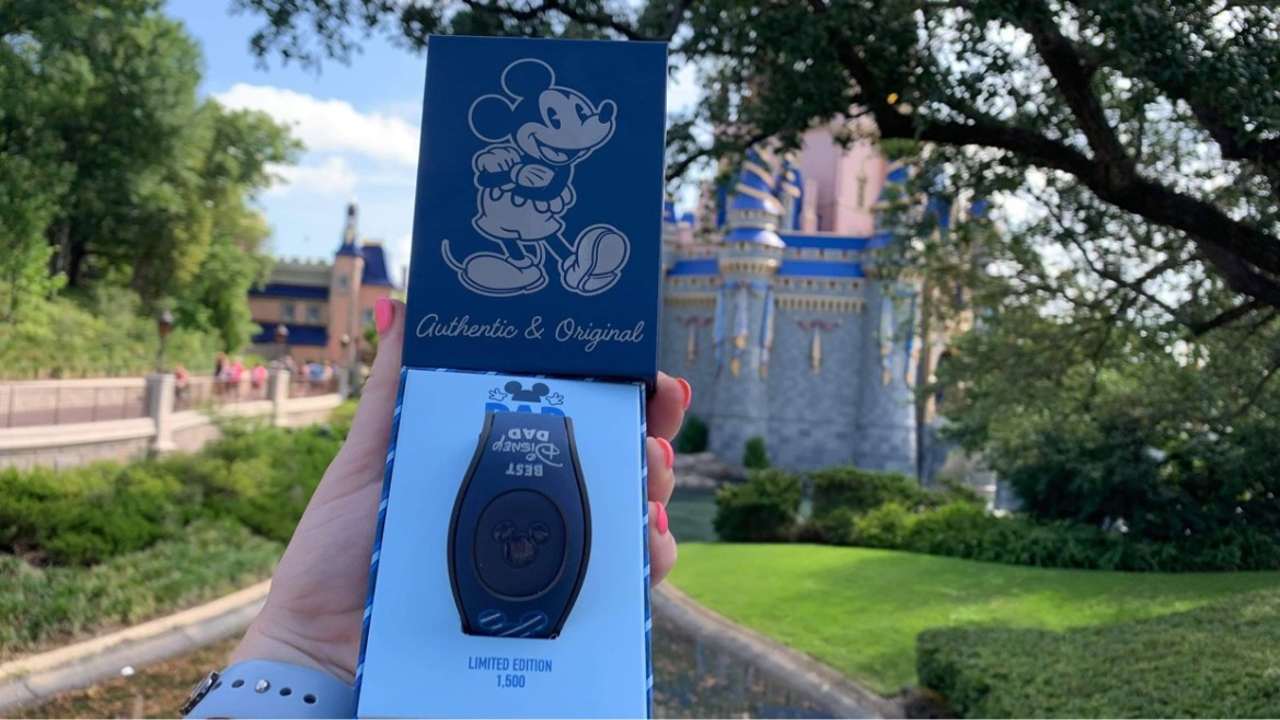 Limited edition Father's Day Magic Band available at Disney World
