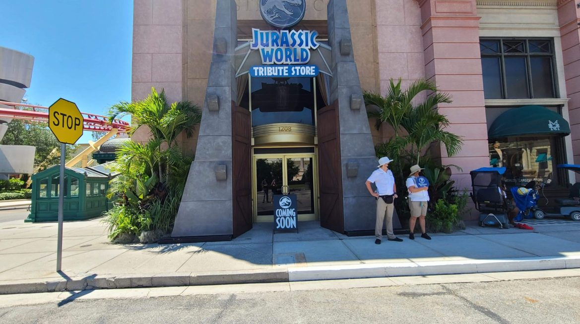 Jurassic World Tribute Store coming to Universal