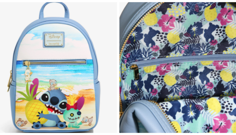 Lilo And Stitch Beach Backpack