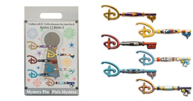 Disney Mystery Key Pins