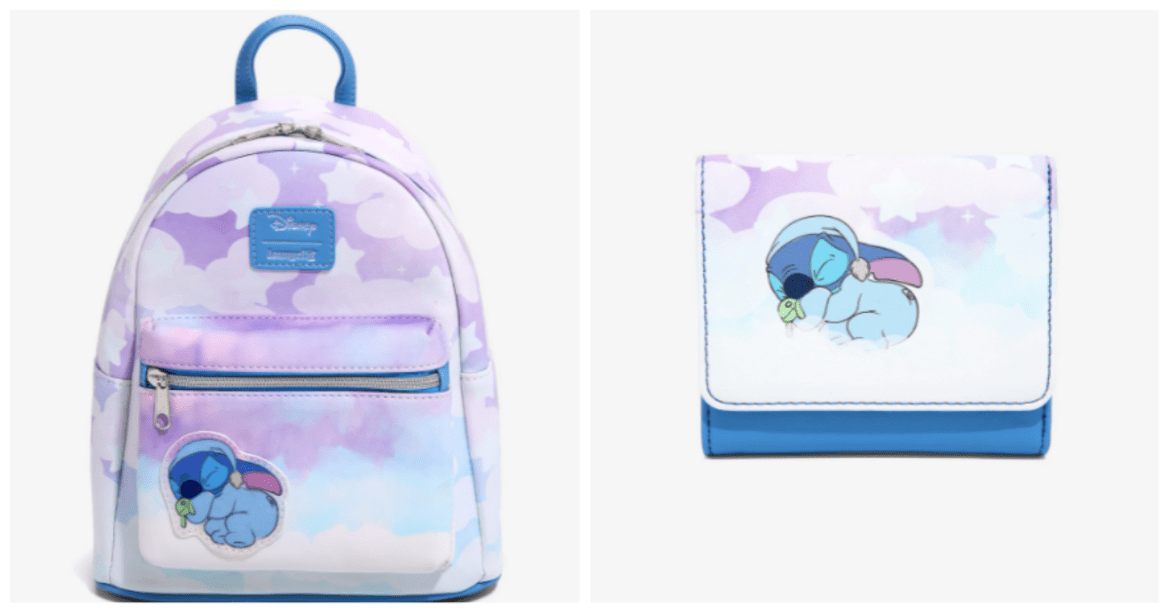 Sleepy Stitch Loungefly Collection Is A Dream Come True