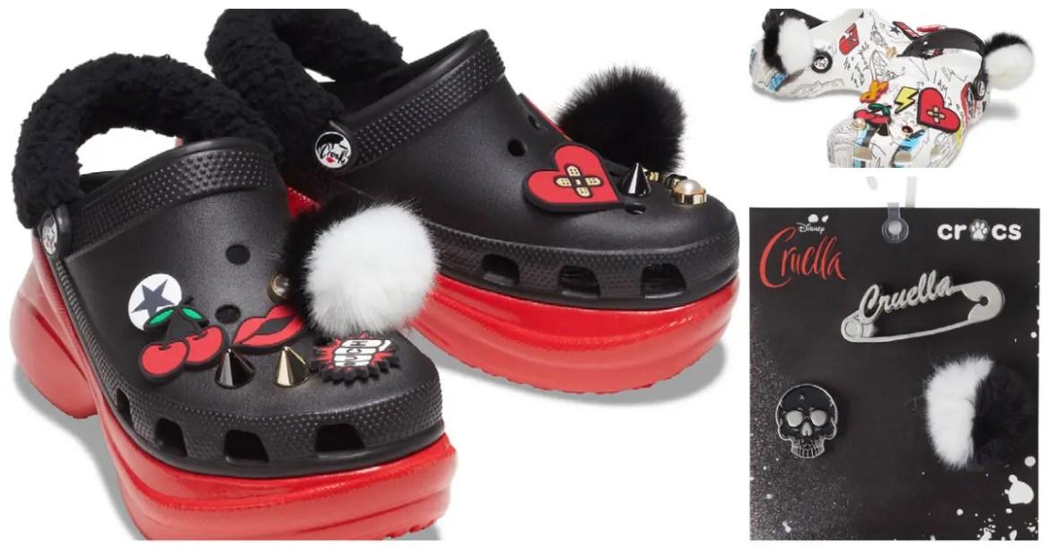 Cruella Crocs Are Fierce And Comfortable Fashion