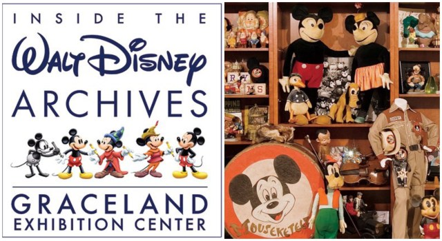 Walt Disney Archives to Host 6-Month Exhibition at Graceland 1