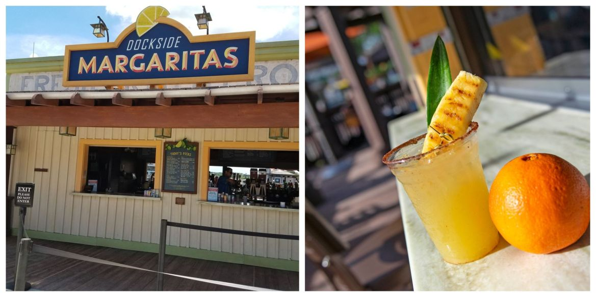 Try the New Pineapple Chipotle Margarita in Disney Springs