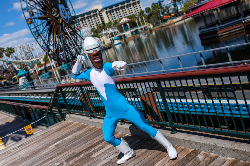 Disney characters welcome guests back to the Disneyland Resort! 11