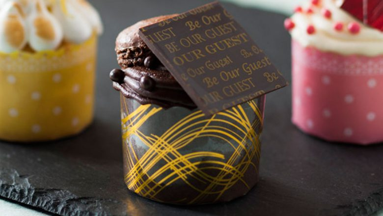 Be Our Guest Triple Chocolate Cupcake