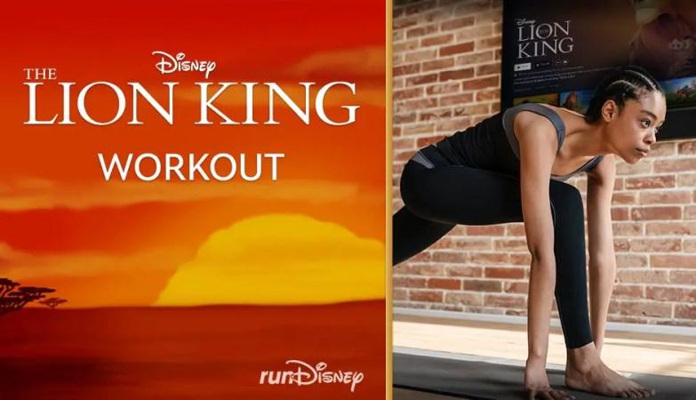 Lion King Workout