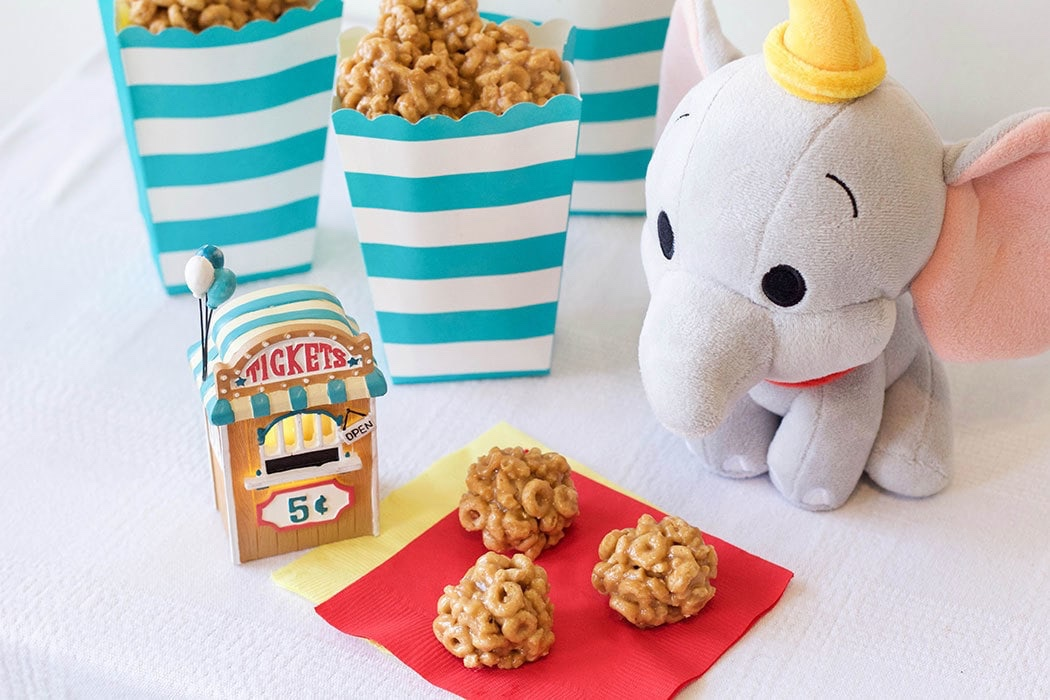 Soar To Delicious Heights With These Dumbo's Peanut Butter Clusters!