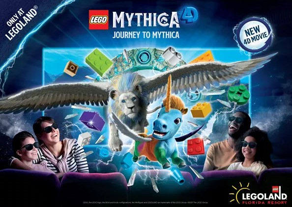 LEGO MYTHICA 4D and AR Experience Coming to LEGOLAND Florida