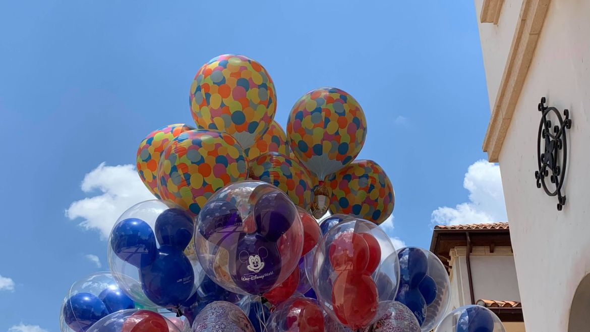 "Limited Edition ""Up"" Balloon Spotted in Disney Springs"