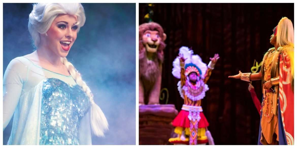 Frozen Sing-Along & Festival of the Lion King reducing physical distancing and raising capacity