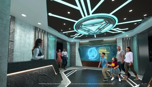Take a stand with Marvel onboard the Disney Wish 2