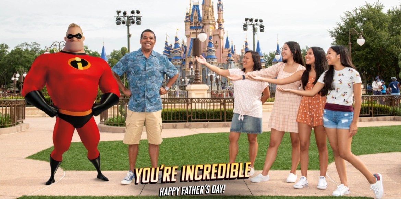 Capture an INCREDIBLE Father's Day Magic Shot at Disney World