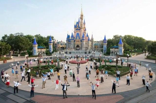 Disney World theme parks reopening