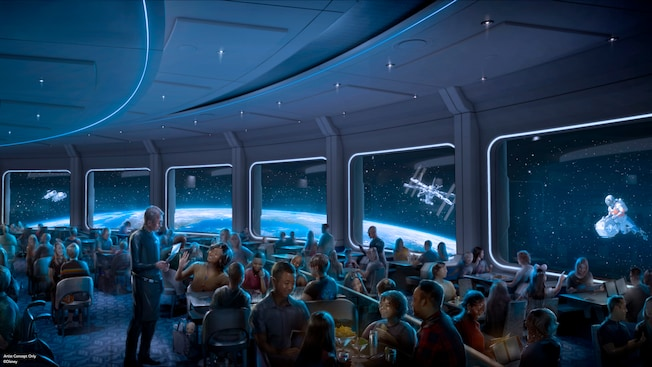 Space 220 Restaurant in Epcot is hiring for multiple positions
