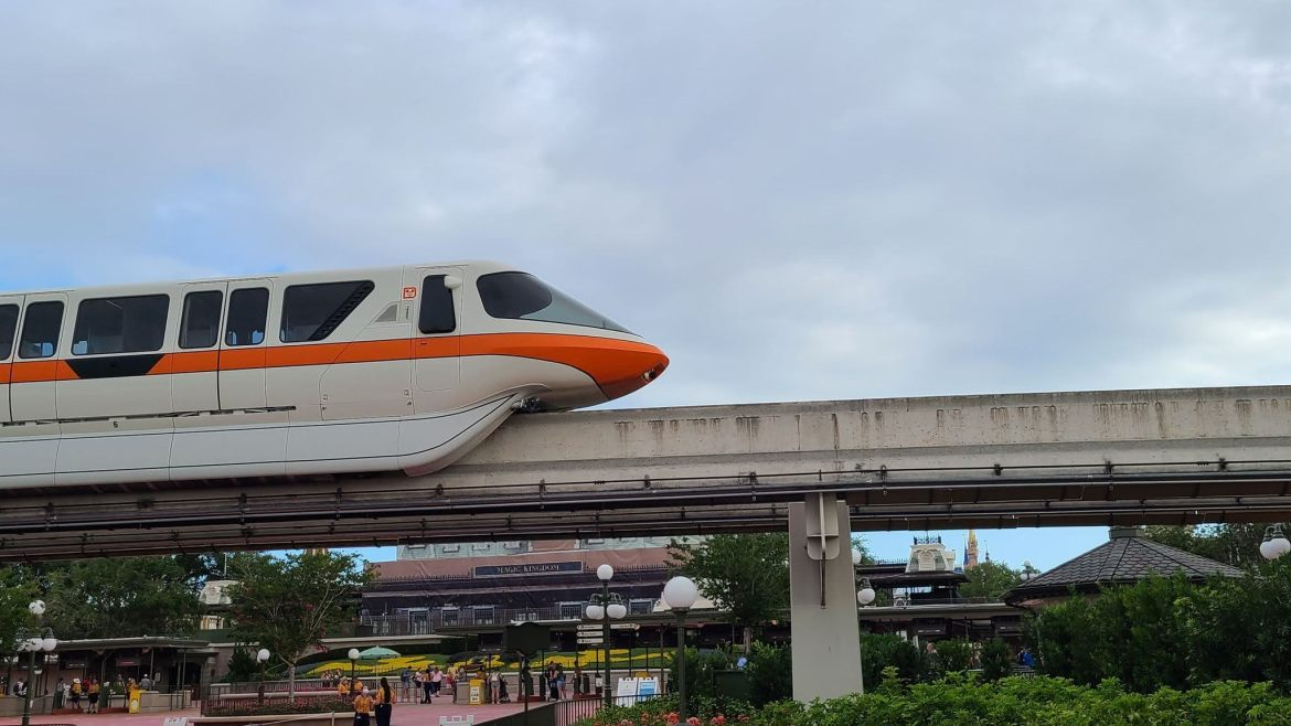 Plexiglass dividers removed from Disney World Monorails
