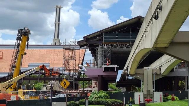 Disney's Polynesian Resort Monorail Station