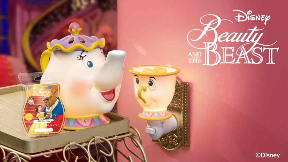 Enchanting New Beauty and the Beast Scentsy Collection