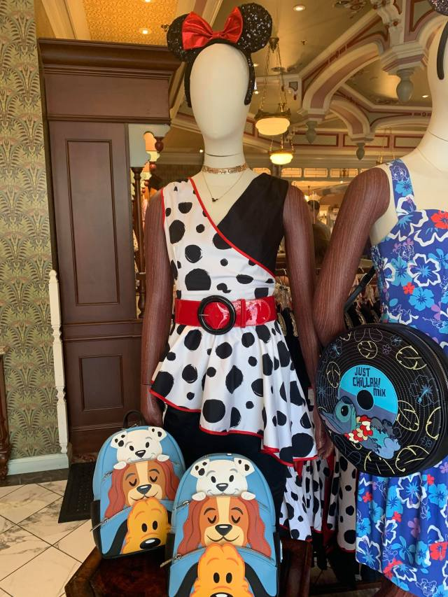 Be Fierce With The New Cruella Dress From The Disney Dress Shop 1