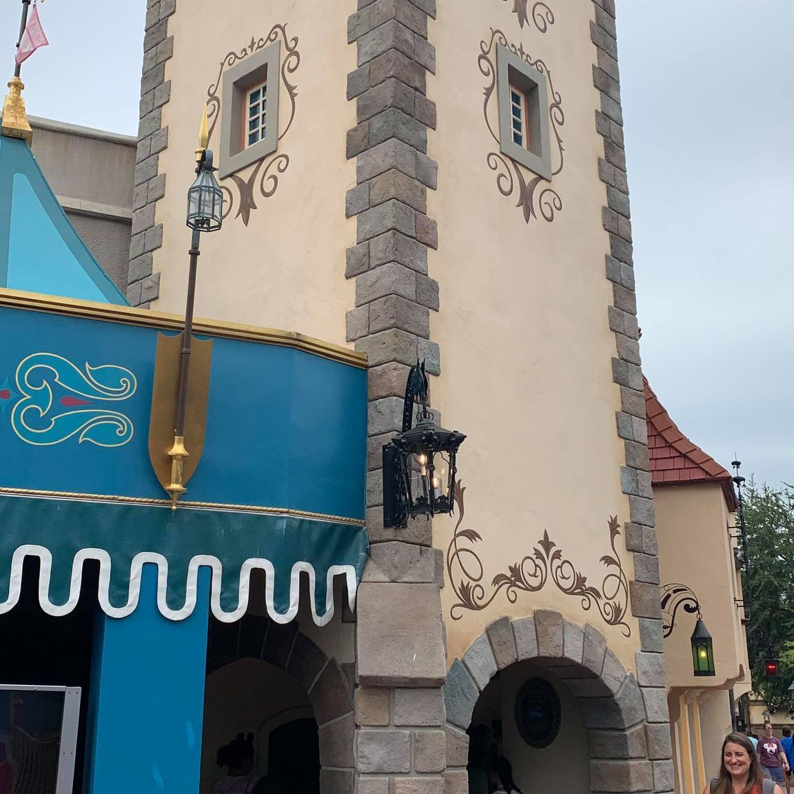 Scrim removed from Peter Pan's Flight in the Magic Kingdom 2