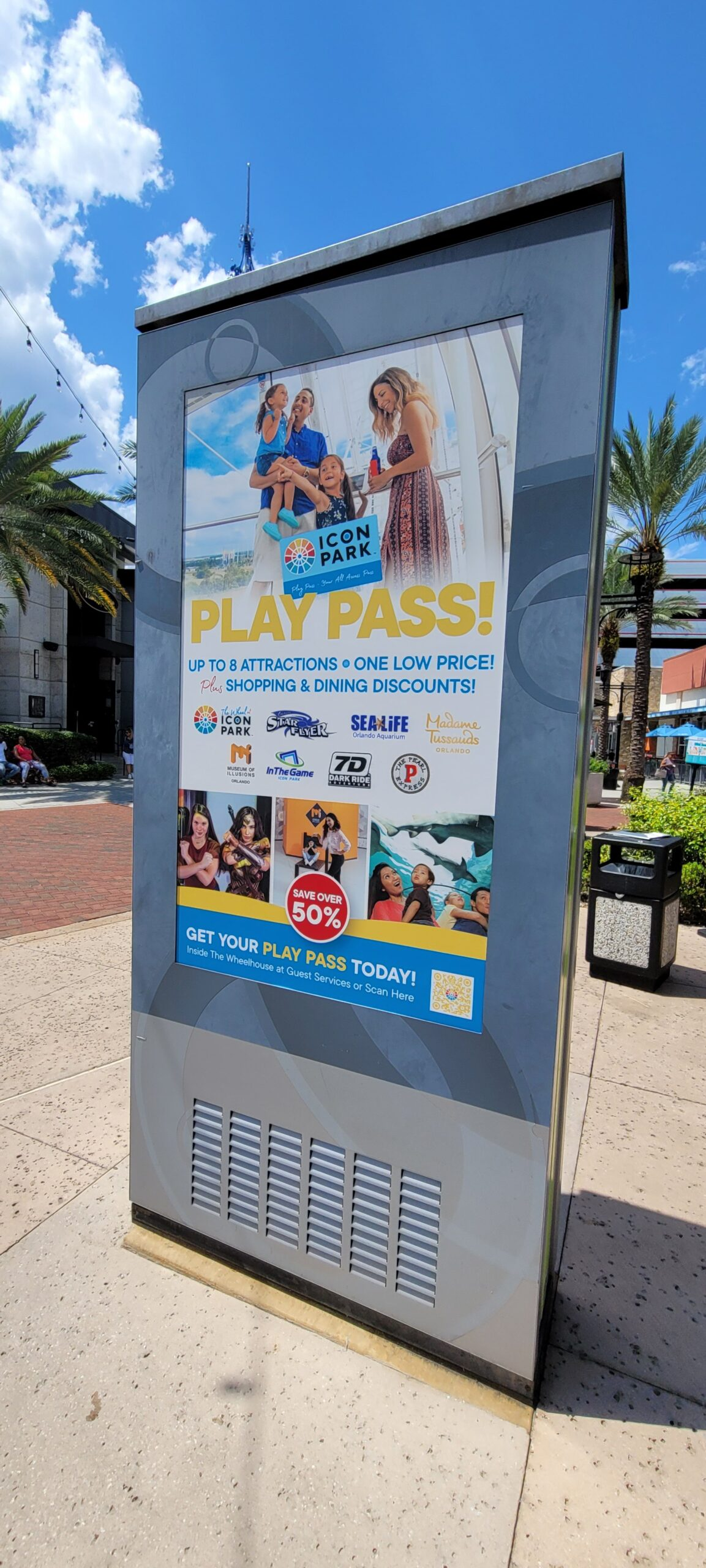 Have a family fun day at ICON Park in Orlando 4