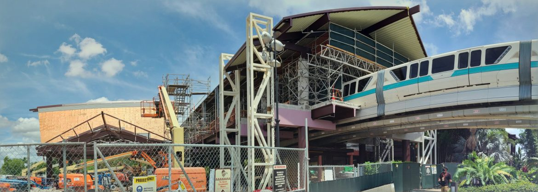 Disney's Polynesian Resort Construction update