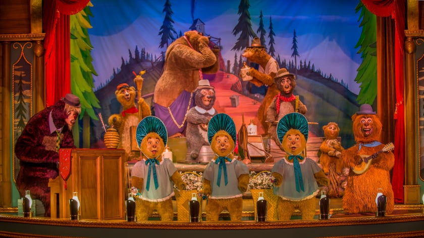 Work to begin on Country Bear Jamboree according to a new permit